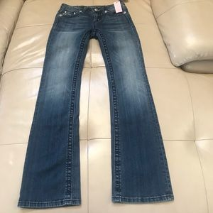 Miss Me Girl's Bling Bootcut Jeans, NWT. s…